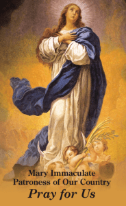 Prayer for Religious Freedom Mary