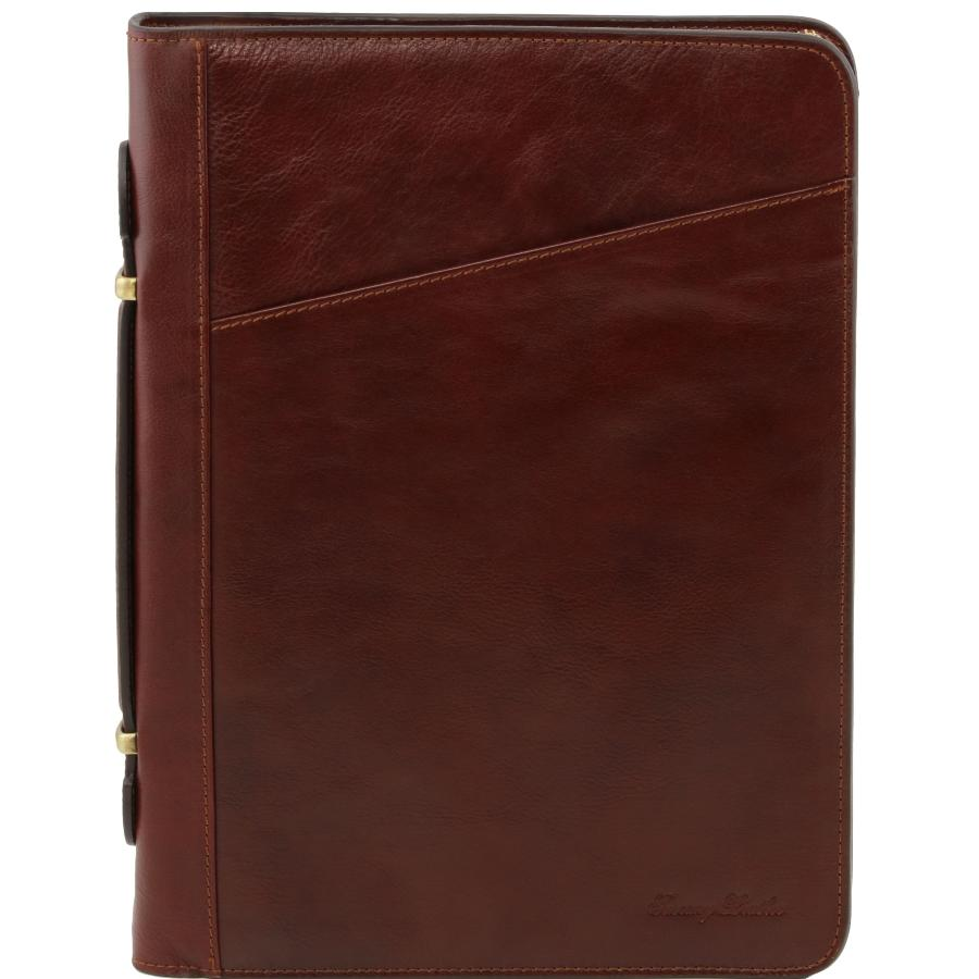 Porte Document Cuir Homme Conférencier Porte Documents Cuir Marron Tuscany Leather