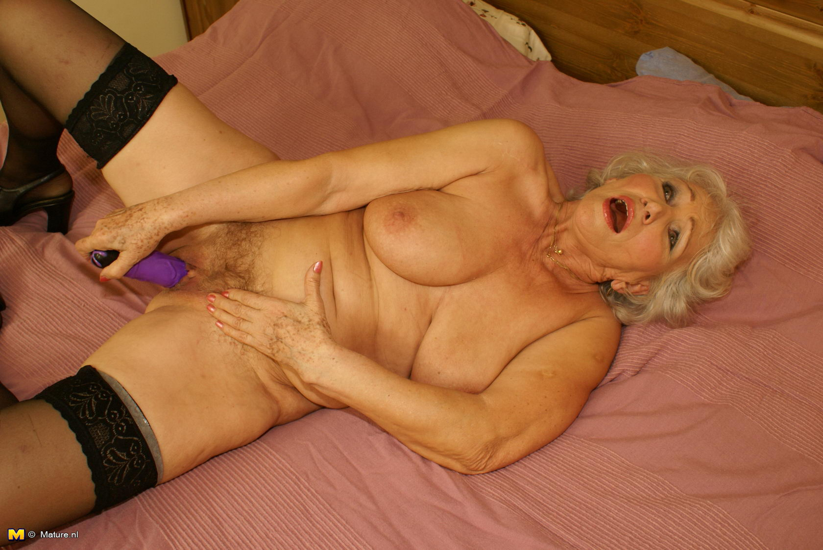 the horny granny next door