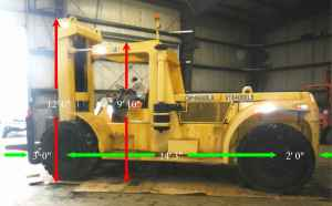 hyster h460b for sale