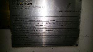cininnati plastic molding machine