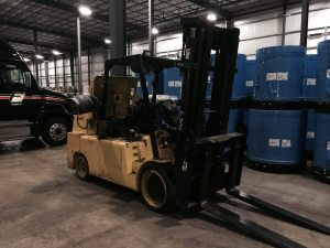 30,000lb. Capacity Lowry Forklift For Sale