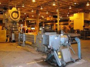 10,000lb. Capacity CWP Straightener Servo Feedline For Sale (9)