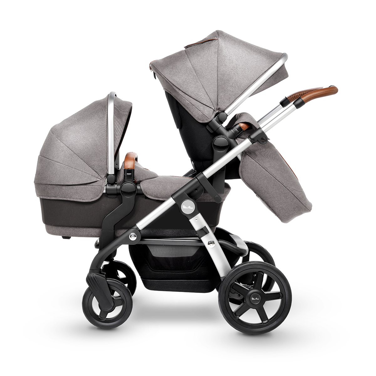 Newborn Baby Stroller Uk Silver Cross Wave Pram Pushchair Sable
