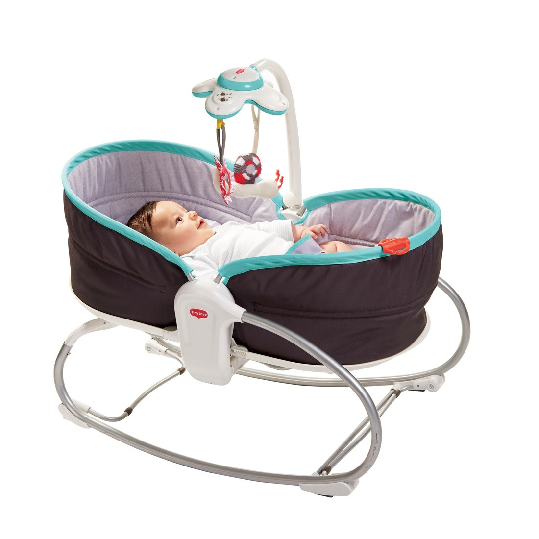 Baby Chair Upright Tiny Love 3 In 1 Rocking Vibrating Bouncy Chair Moses Basket