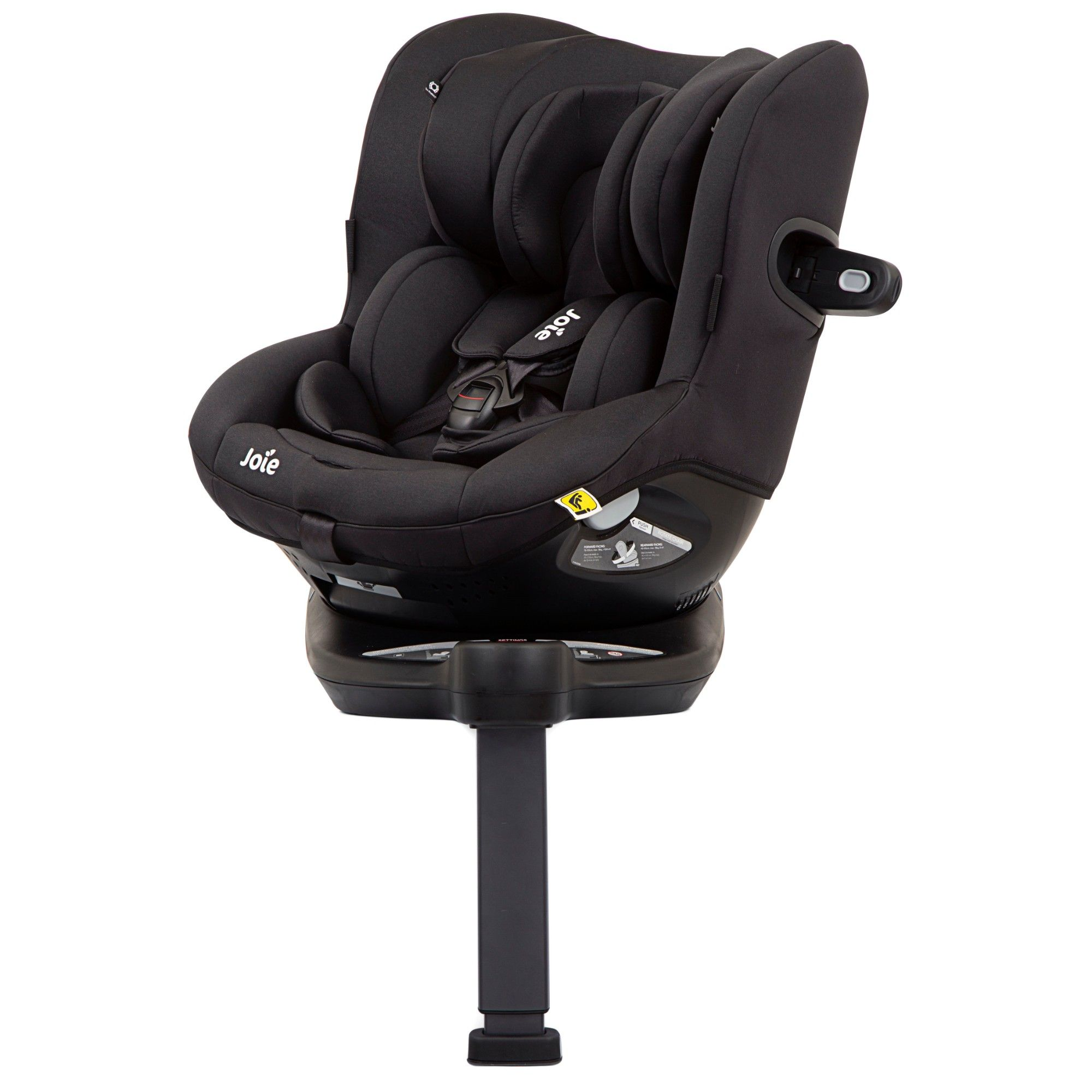 Joie 360 Isofix Installation Joie I Spin 360 Extended Rearward Facing Isofix Car Seat 4 Years Black