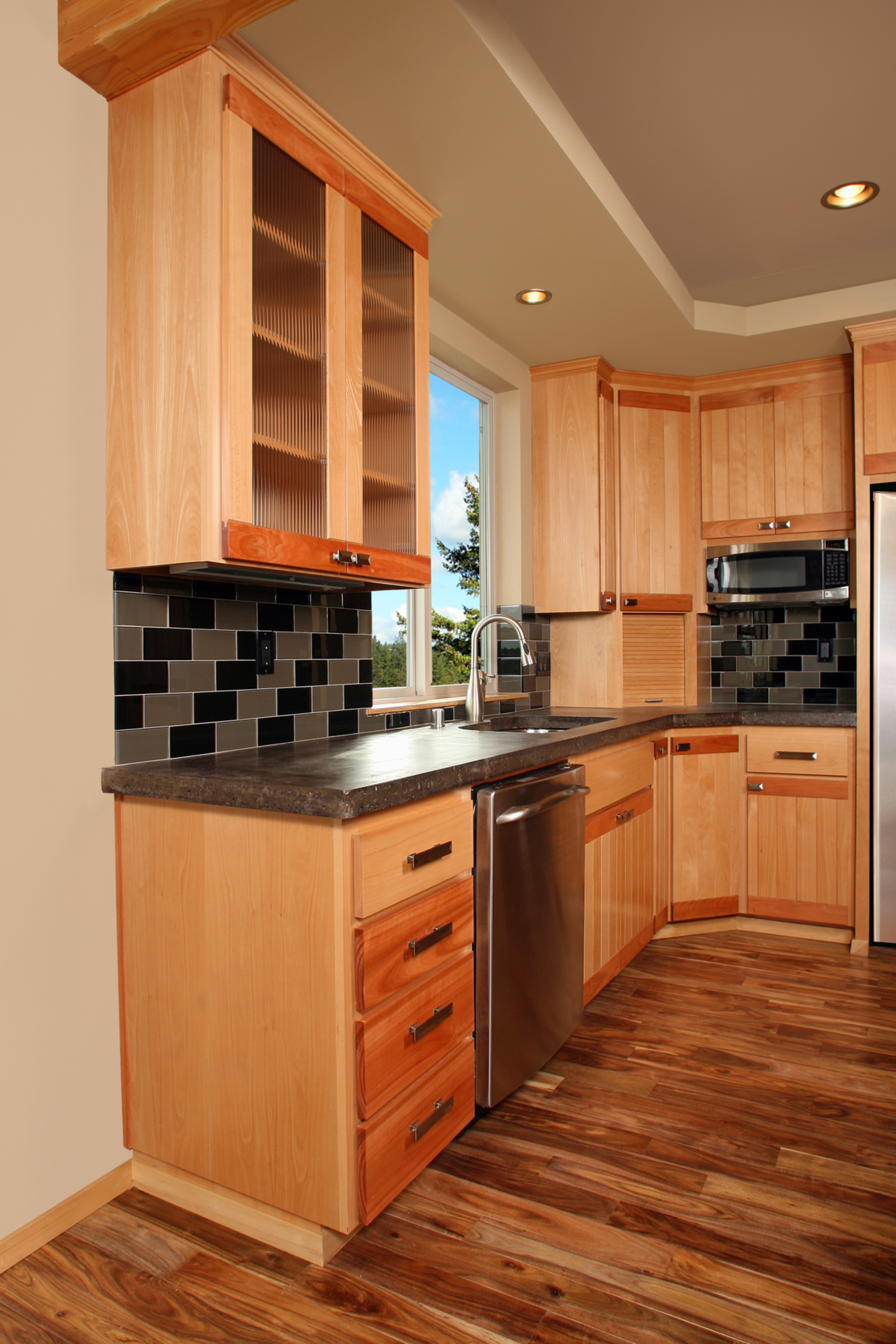 Houzz Kitchen Corner Cabinets Affordable Custom Cabinets Showroom