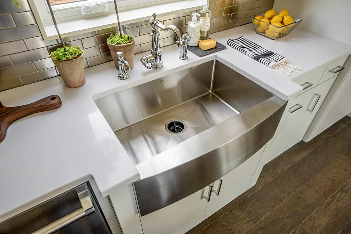 Double Butler Sink Sink Types Undermount Or Inset A Guide To Sinks For