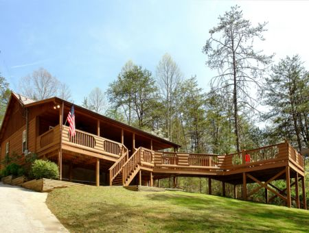 TranquilityGatlinburg Cabin Rentals_Tranquility_ outside