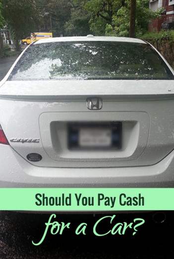 Should You Pay Cash for a Car?