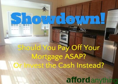 Should You Pay Off Your Mortgage or Invest the Cash?
