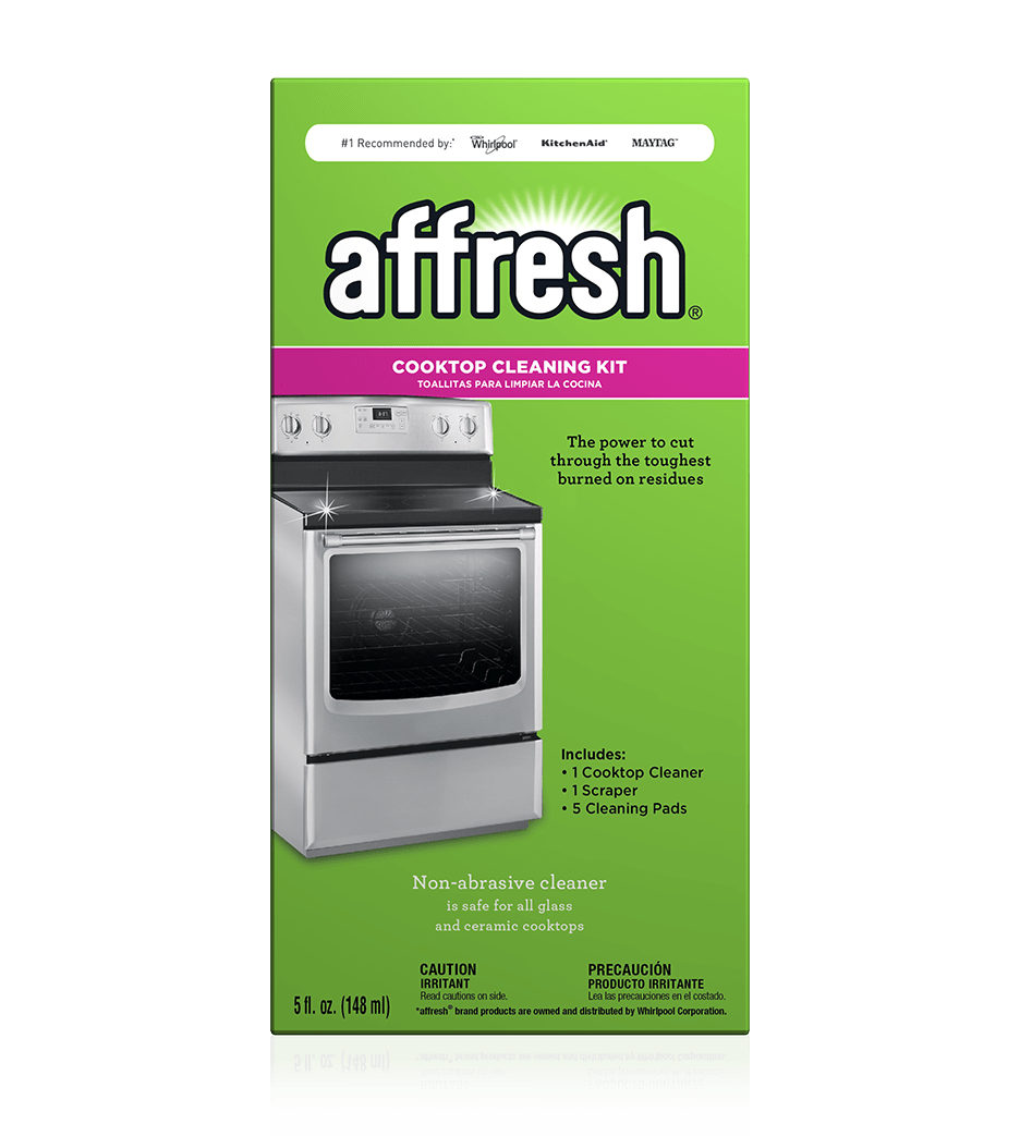 Whirlpool Countertop Stove Cooktop Cleaning Kit Affresh