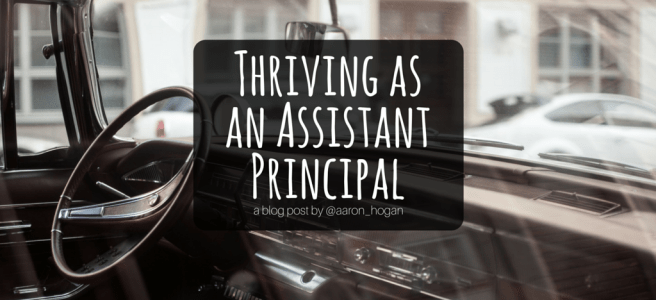 Thriving as an Assistant Principal