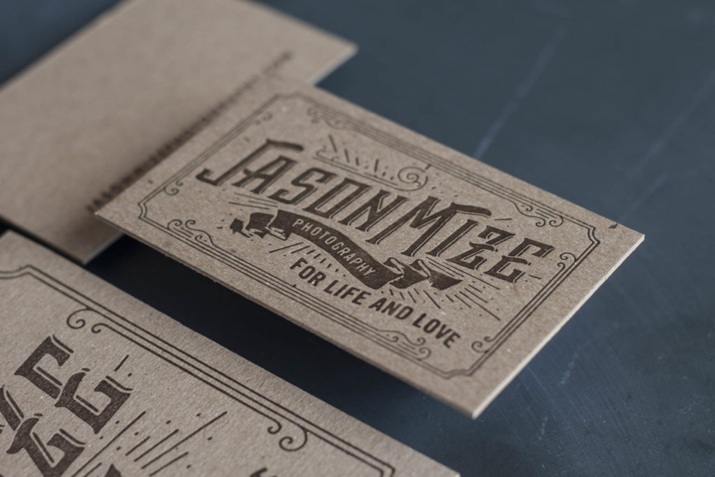 How Thick are Letterpress Invitations and Business Card Papers? - A