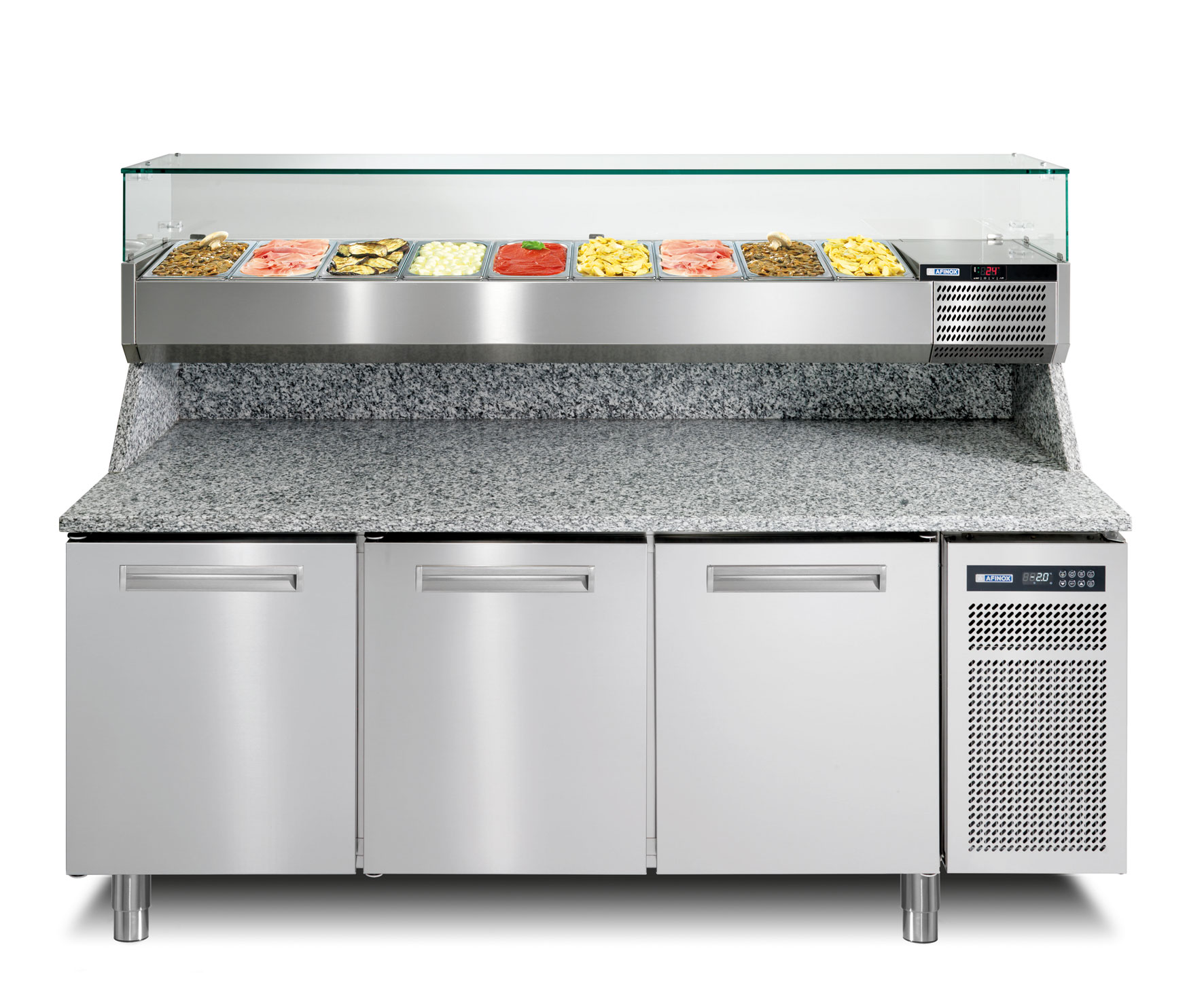 Meuble Pizza Pizza Counters And Tables Refrigerated Worktops For Perfect Pizzas