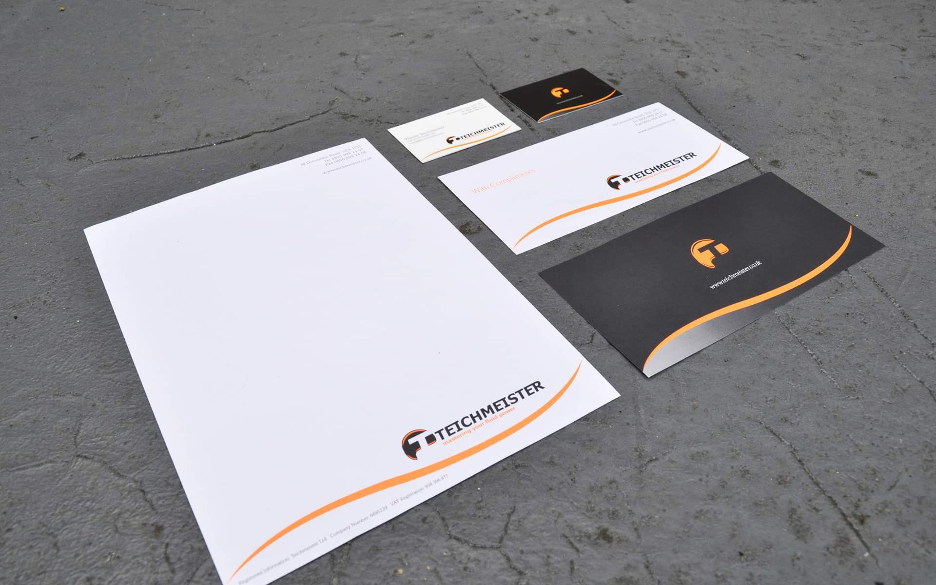 Teichmeister Design Portfolio Teichmeister Branding Stationery And Livery