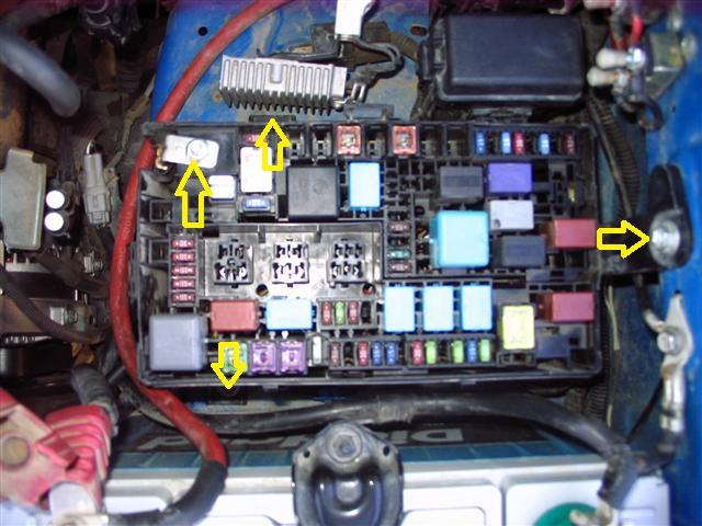 Fj Cruiser Fuse Box Wiring Diagram