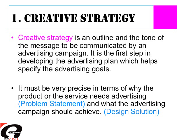 CAMPAIGN PLANNING - advertising plan