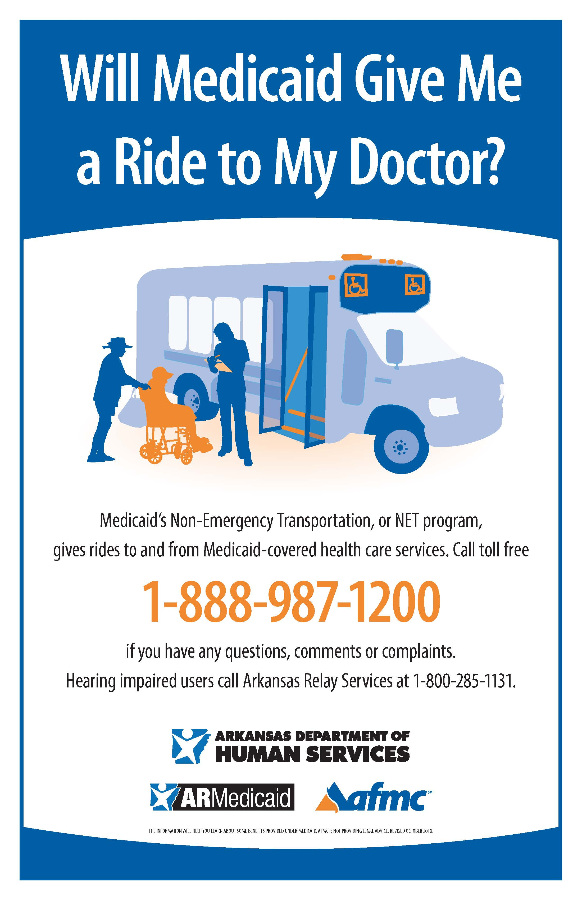 Poster In Spanish Non Emergency Transportation Net Poster English Spanish Afmc