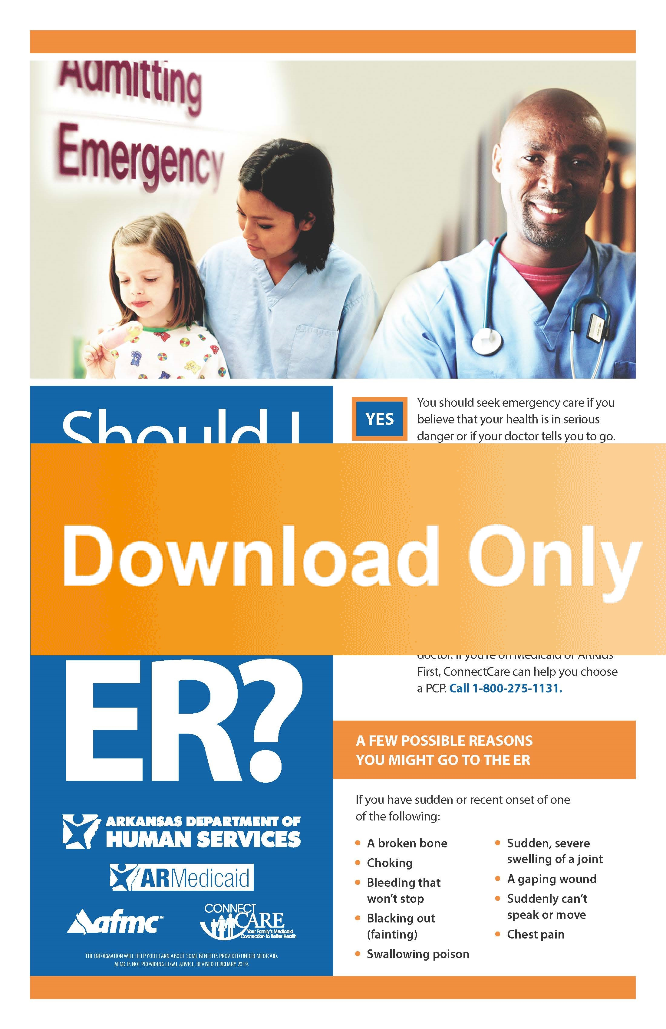 Poster In Spanish Emergency Room Poster English Spanish Download Afmc