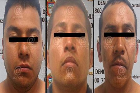 Con ellos suman 9 los detenidos de esa banda delictiva.