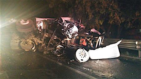 Se accidenta otro tráiler en la autopista México – Querétaro