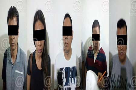 Los detenidos llevaban objetos robados.