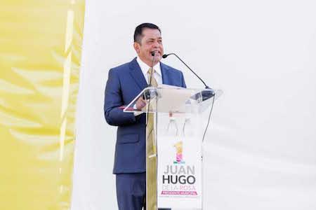 Reclama Juan Hugo de la Rosa que se entregue la ciudad deportiva a los habitantes de Neza