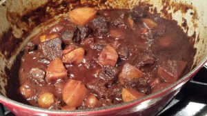 The venison stew is ready to plate!  (Photo Credit: Adroit Ideals)