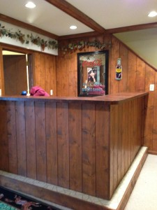 "The ""before"" photo of our 1970s Bar Remake (Photo Credit: Adroit Ideals)"