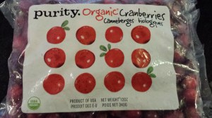 Organic cranberries (Photo Credit: Adroit Ideals)