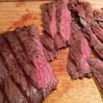 Sliced Grilled Skirt Steak for Fajitas (Photo Credit: Adroit Ideals)