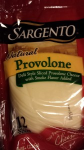 Provolone slices can be regular or smoky for the Italian Burgers (Photo Credit: Adroit Ideals)