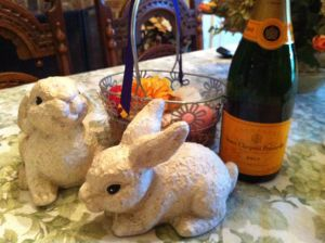 Easter Bunnies celebrate Easter! (Photo Credit: Adroit Ideals)