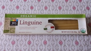 Whole Foods Market's 365 Brand Organic Linguine (Photo Credit: Adroit Ideals)