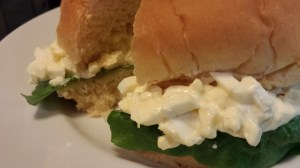 My Easy Egg Salad Sandwich!  (Photo Credit: Adroit Ideals)