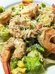 Decadent Shrimp Caesar Salad (Photo Credit: Adroit Ideals)