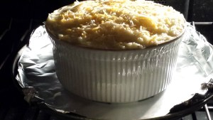 The Shepherd's Pie is ready for baking  (Photo Credit: Adroit Ideals)