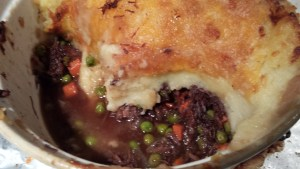 Leftover Beef Shepherd's Pie will reheat well  (Photo Credit: Adroit Ideals)