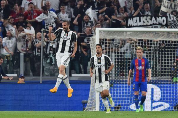 organización defensiva de la Juventus