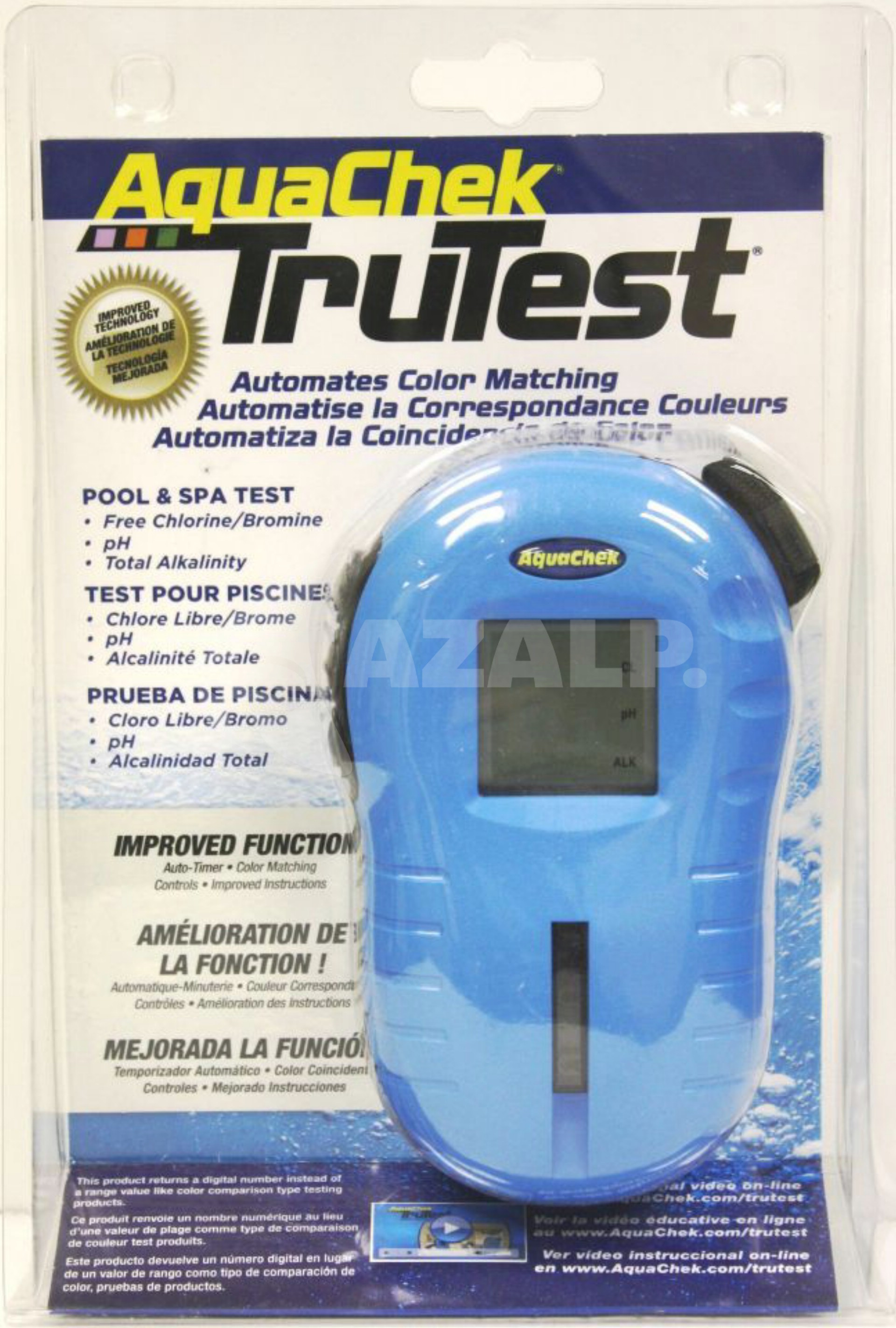 Ph Waarde Tester Zwembad Aquachek Trutest Reader Blue