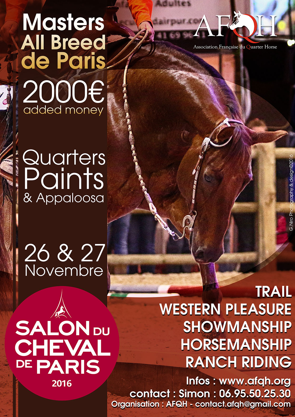 Salon Du Cheval A Paris Afqh Afqh Association Française Du Quarter Horse Page 3