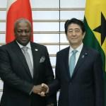 ガーナ大統領と安部総理が首脳会談!巨額の支援表明でTICAD開催に向け、関係強化へ!