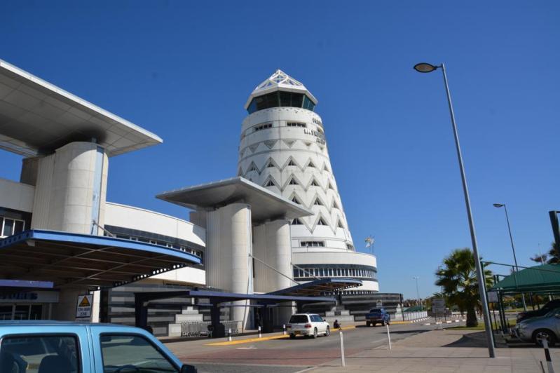 こちらはジンバブエ ハラレ空港