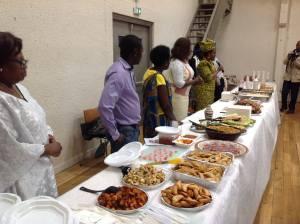 Soirée SAveurs et Gourmandises Africaines à LYon @ SALLE RAVIER