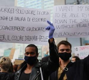 Manifestazione Black lives matter