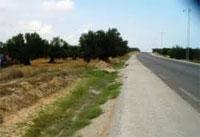 Les travaux de réalisation de la rocade nord de Ben Arous (banlieue sud) reliant la Z4 et la route régionale numéro 33