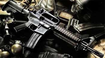 Les agents de la garde nationale on saisi seulement deux stocks d'armes