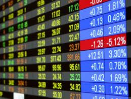 Les pertes de la bourse cumulées depuis la fin de l'année 2010