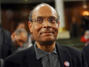 Le président de la République provisoire de la Tunisie